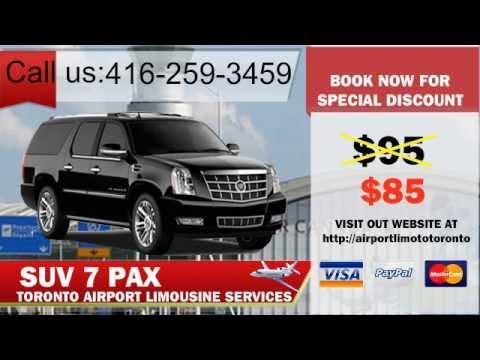 Toronto Airport Limo, Airport limousine - Toronto Pearson Airport Transportation