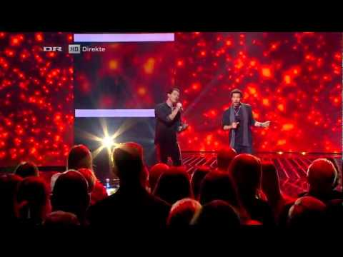 Lionel Richie & Rasmus Seebach - Say You, Say Me (X Factor DK 2012)