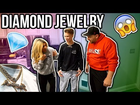 My Parents Reaction to my NEW DIAMOND JEWELRY!