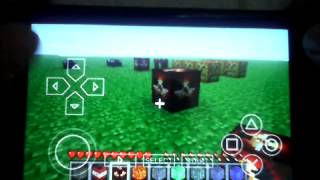 Minecraft-PPSSPP Android (Link In Description)