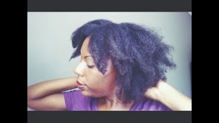 How To Stretch Natural Hair | African Threading Method