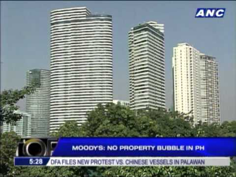 Moody's: No property bubble in Philippines