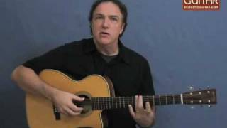 Acoustic Guitar Lesson - Michael Hedges-style Lesson