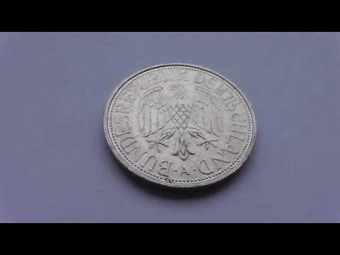 Old german money coins - 1 Deutsche Mark