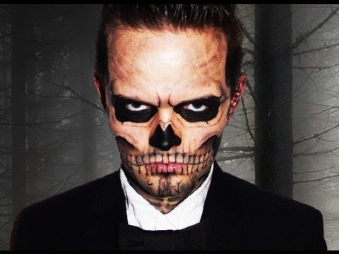 Lady Gaga Skull - Born this Way - Makeup Tutorial! - Zombie Boy
