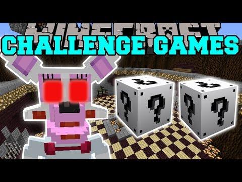 Minecraft FUNTIME FOXY CHALLENGE GAMES Lucky Block Mod Modded - Foxy skins fur minecraft