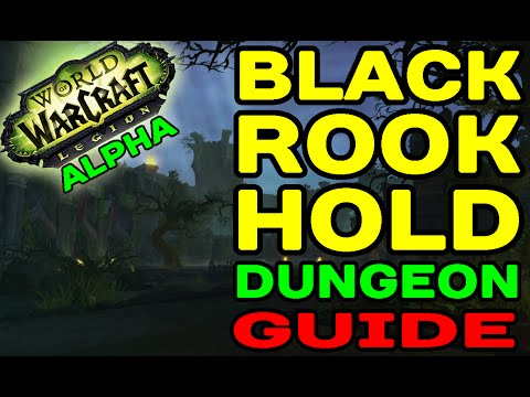 World of Warcraft LEGION: Black Rook Hold Dungeon Guide !!