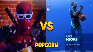 TOUS LES 'NEW' FORTNITE SEASON 4 DANCES IN REAL LIFE! (Popcorn, Roy Purdy Dance, Shoot Dance)