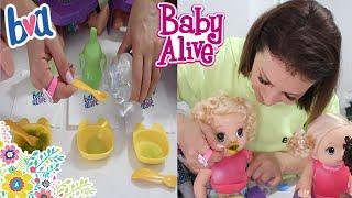 BABY ALIVE OYUNCAK BEBEK MAMA YEDİ BEZİNİ KİRLETTİ BABY ALİVE OYUNLARI Fun Kids /. Bidünya Oyuncak