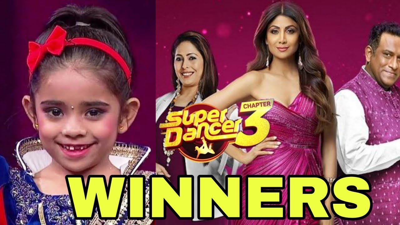 Super Dancer Chapter 3 2019 Winner Name | You Won't Believe Who Winner |  Rupsa Batabyal