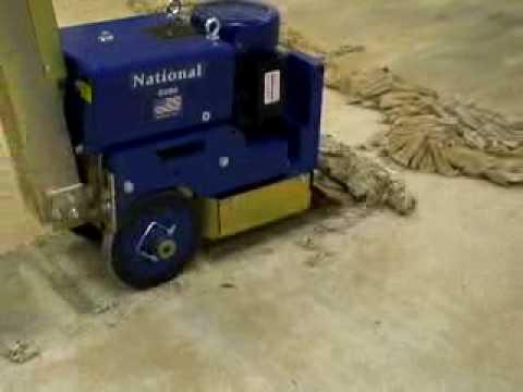 Industrial Self Propelled Floor Scraper YouTube - Sinclair floor scraper