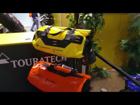 Touratech Travelbike with GPS (Sat Nav, Navi) Mount and wet Travelbag, Africa Twin
