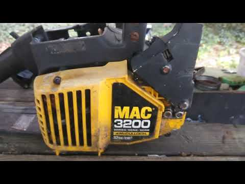 Repeat EASY Spark plug Change, McCulloch Mac Cat