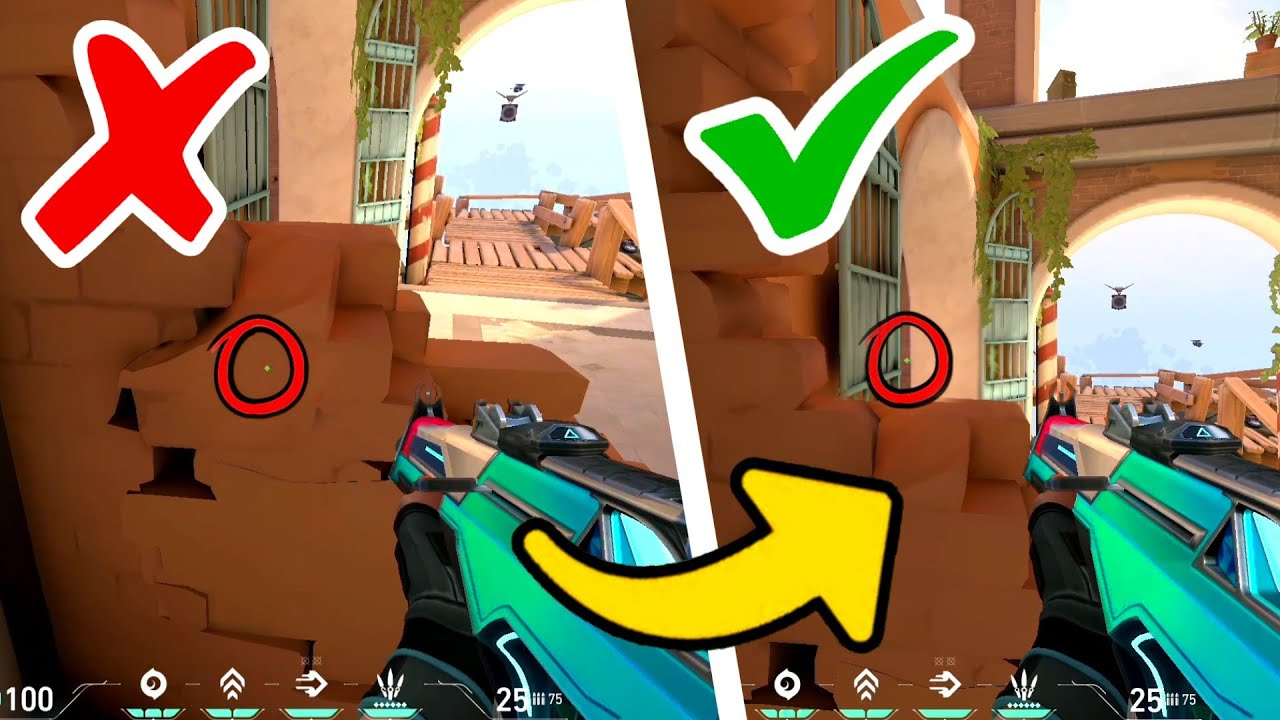 Download How to Improve Your Crosshair Placement by Not Aiming (Valorant Tips and Tricks)