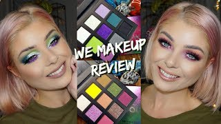 We Makeup | Review, Swatches & 2 Looks