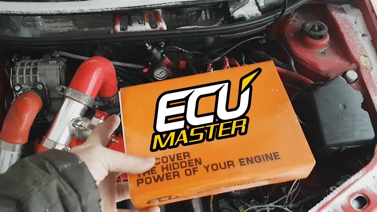 Ecumaster DET3+ Piggyback Basic Installation & Use DIGITAL ECU TUNER Fiat  Punto ENG Subtitles