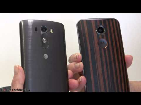 Moto X 2nd Gen 2014 vs. LG G3 Comparison Smackdown