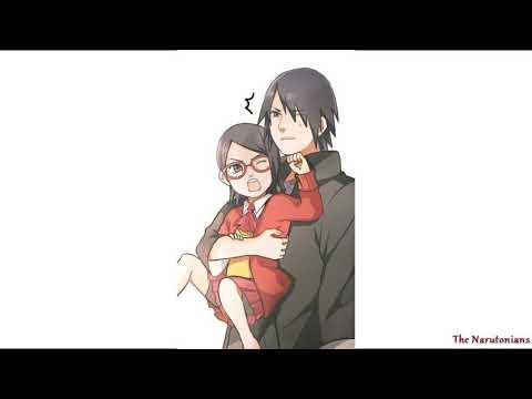 Teasing Papa   Confused Sasuke
