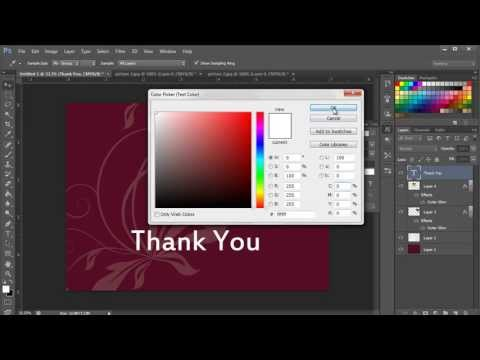 How To Create Thank You Cards