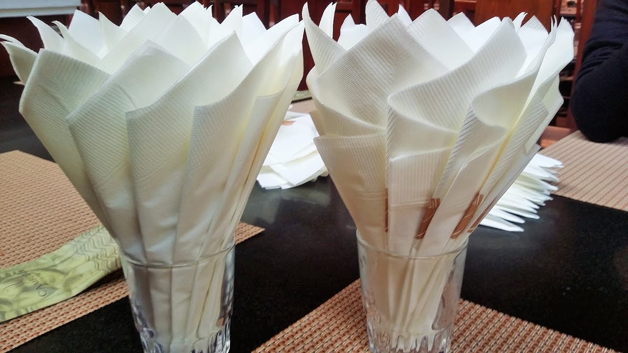 How To Make A Napkin Tissue And Napkins Creative Ways To