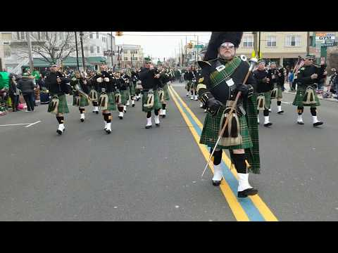 Friendly Sons of the Shillelagh and the Pipes and Drums of the Jersey Shore - 2019