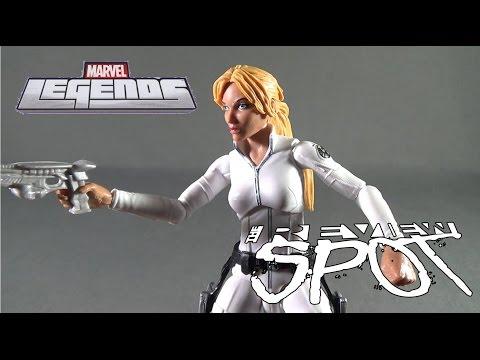 Toy Spot - Hasbro Marvel Legends Series Red Skull Wave Sharon Carter
