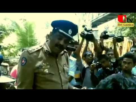 POLICE SSP And Protesters in Colombo 14 October 2015   04 41 11 PM   00000
