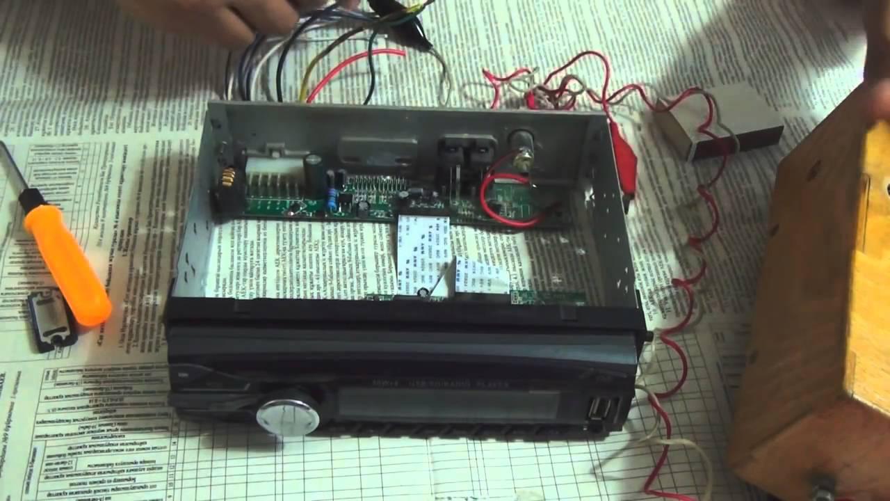 Ремонт магнитолы своими руками видео фото 623