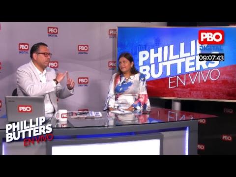 Phillip Butters - En Vivo 07 Ene. 2019 - Entrevista a Karina Beteta