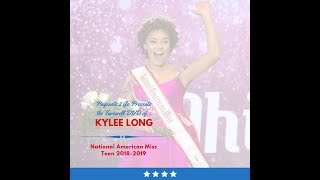 National American Miss Farewell DVD by Pageants 2 Go - Kylee Long
