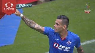 Penal de Milton Caraglio | Cruz Azul 2 - 0 Pachuca | Clausura 2019 - Jornada 11 | Televisa Deportes
