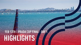 PRADA Cup Day 1 Highlights