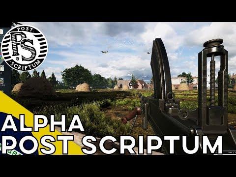 POST SCRIPTUM -- 1ª Sessão de Alpha -- Gameplay BRASIL