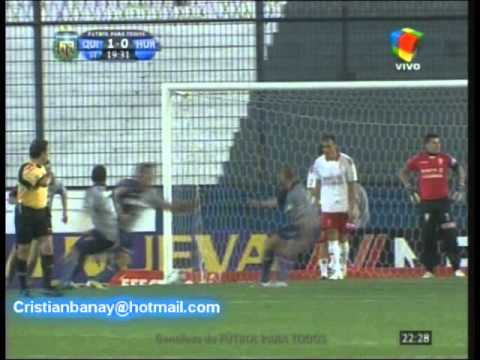 Quilmes 2 Huracan 0 Torneo Nacional B 2011-12 Los goles (Relato Ale Calumite)