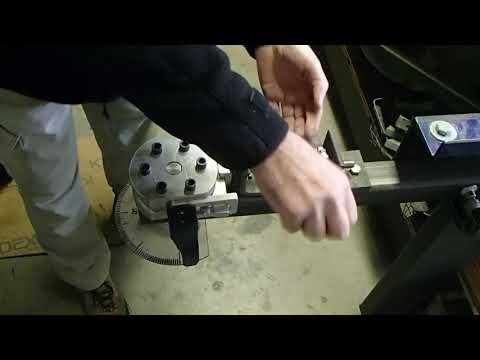 home made tube bender for steel and aluminum tubing