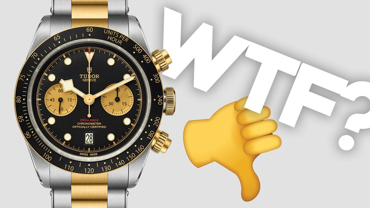 Tudor Black Bay Gone Wrong 2019 Baselworld Releases Youtube