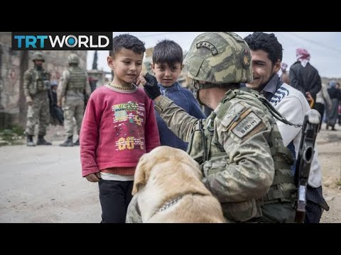 Turkey's Border Mission: Afrin residents depend on aid for survival