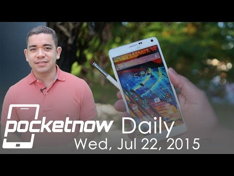 Galaxy Note 5 expandability, Apple Watch market share & more - Pocketnow Daily