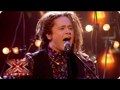 Luke Friend sings I Will Wait by Mumford and Sons- Live Week 8 - The X Factor 2013