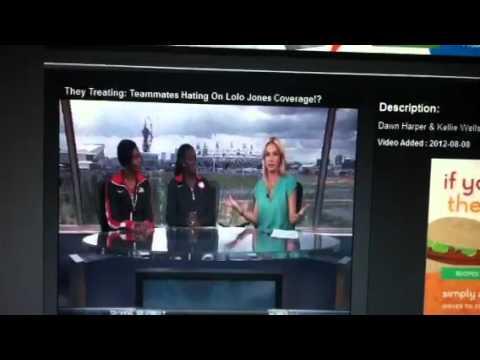 Teammates Hating On Lolo Jones Coverage!?