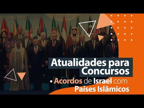 Atualidades Para Concursos - Acordos De Israel Com Países Islâmicos