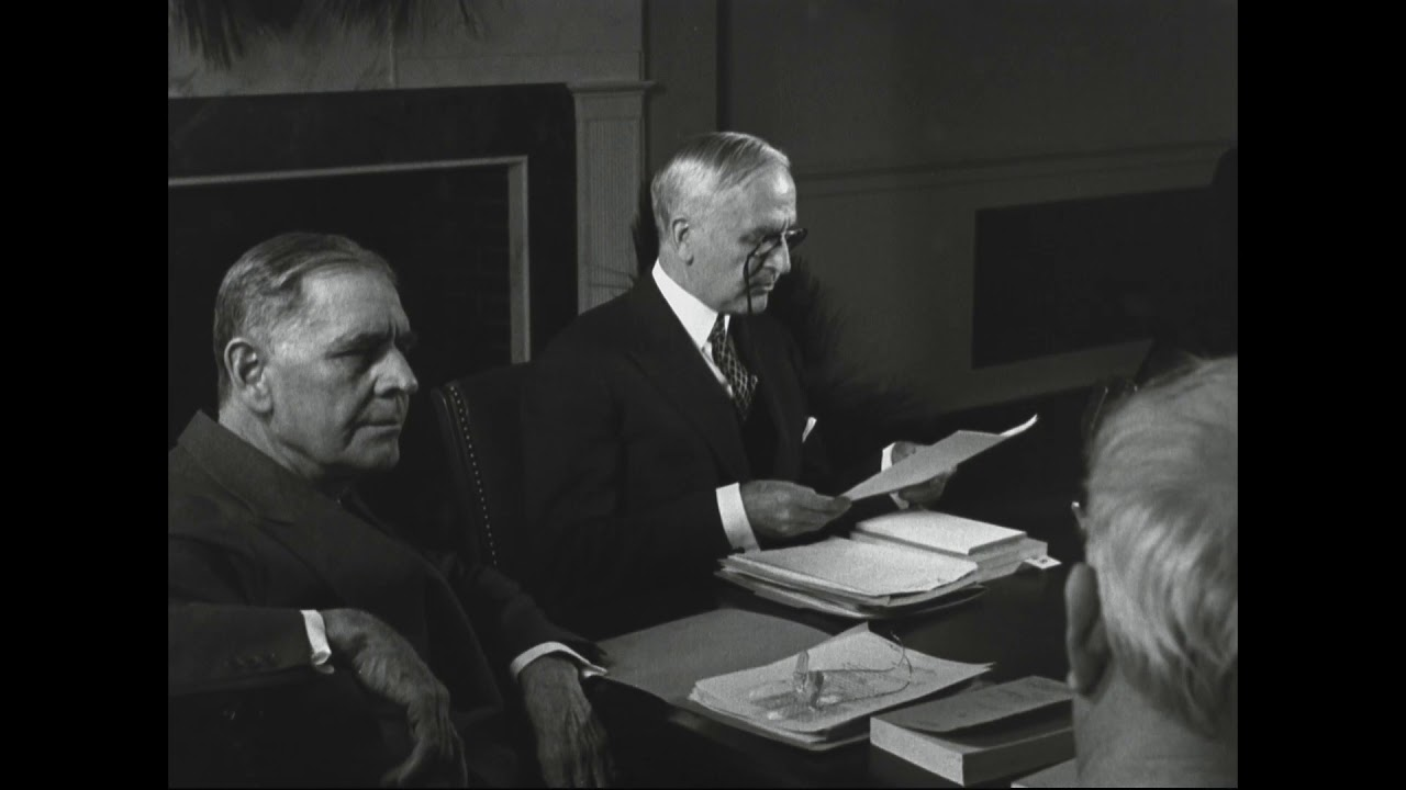 First Meeting of National Archives Council (1936)