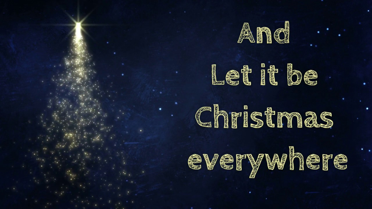 Alan Jackson Let It Be Christmas.Let It Be Christmas Lyrics Hd Alan Jackson