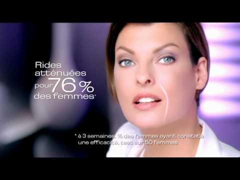 Vidéo PUB TV L'Oreal Collagene Repulpeur - Linda Evangélista