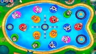 ТОМ АКВАПАРК #9 Бассейн говорящего Тома и ДРУЗЬЯ Затерянный город Tom Pool Игровой мультик