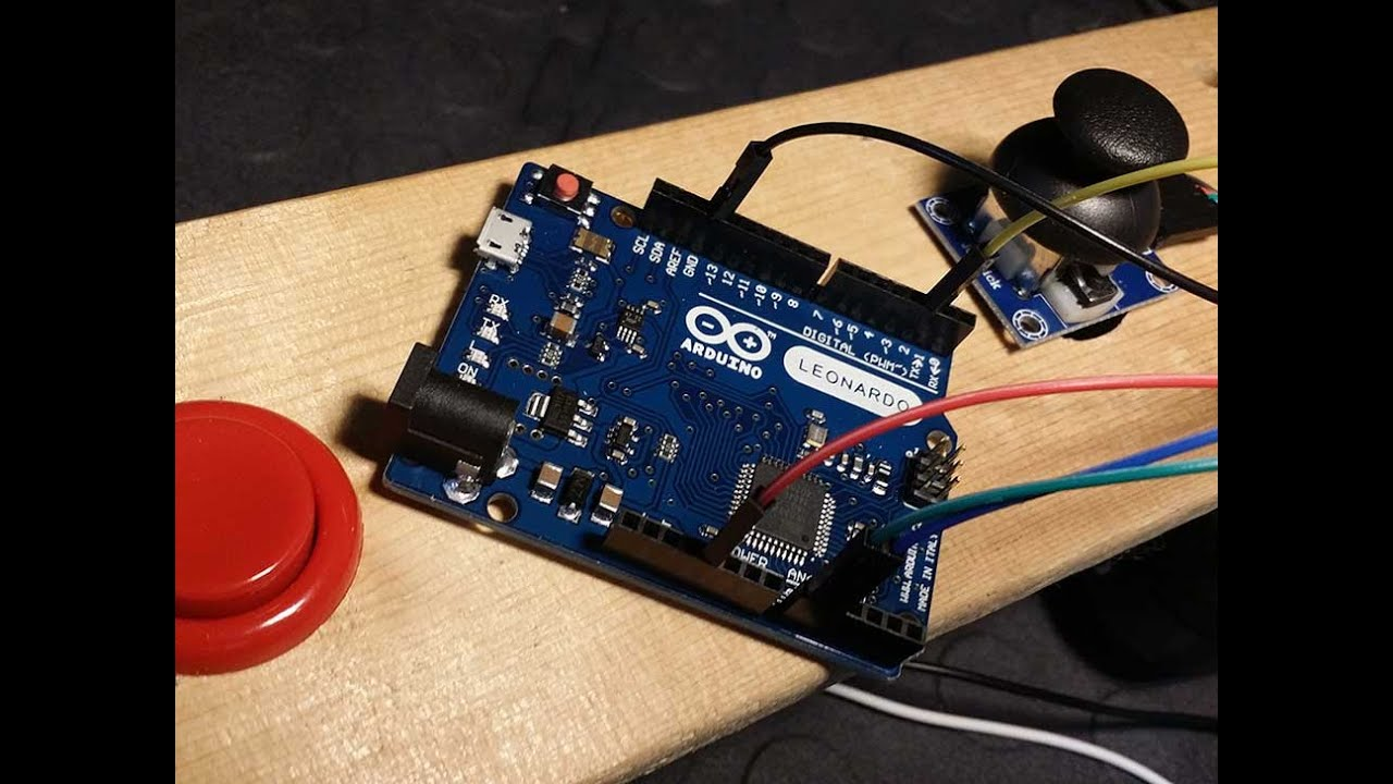 Use the arduino leonardo as a mouse with an analog