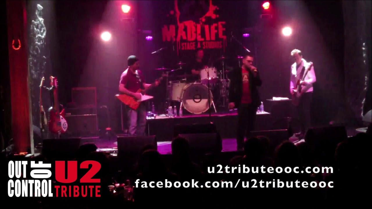 Out of Control - A U2 tribute band - Until the end of the world