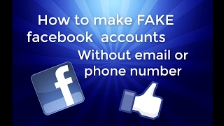 How to make multiple facebook accounts