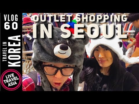 Best Place to Shop in Seoul Korea, Mario, Lotte, Hyundai Outlets at the Gasan Digital Complex 2018