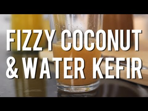 How to Make Fizzy Coconut & Water Kefir